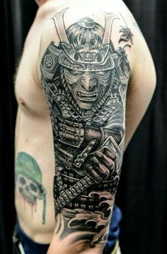 ... about tattoos on Pinterest   Temple tattoo Warrior tattoos and Ink