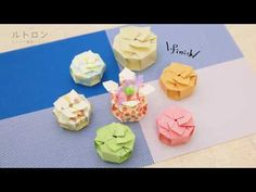 Origami Box Tutorial, Quilling, Diy Crafts, Decoration, Youtube, Cartonnage, Paper, Crates, Boxes