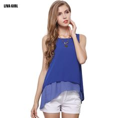 Focus on what you do best SHOP Free Shipping New.... Check it out.  http://uniquestylebrands.myshopify.com/products/free-shipping-new-fashion-women-summer-t-shirt-sleeveless-o-neck-chiffon-shirt-casual-solid-female-tank-tops-ladies-loose-vest?utm_campaign=social_autopilot&utm_source=pin&utm_medium=pin