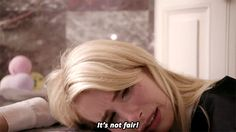 Life's not always fair, Chanel.