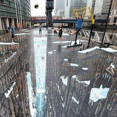 The World's Largest 3D Street Painting.