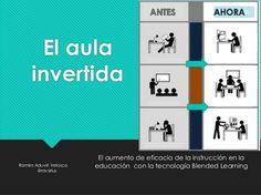 Aula Invertida - Mejorando el Aprendizaje Combinado o Blended Learning | #Presentación #Educación