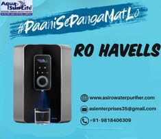 ASL Enterprises is one of the leading RO Havells Suppliers in Gurgaon / Gurugram, Haryana. Offered RO Havells Water Purifier ranges different features that can ease its performance and guarantees durability and dependability. 📲: +91- 9818406309 🌐: www.aslrowaterpurifier.com 📧: aslenterprises35@gmail.com #ROHavells #havells #ro #purifier #waterpurifier #StayHealthy #KaroHealthyShuruwaat #DrinkingWater #ASLEnterprises Kent Ro Water Purifier, Ro Purifier, Drinking Water, How To Stay Healthy, Ranges, Life, Range
