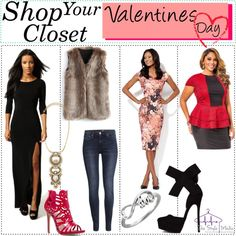 Shop Your Closet for the Perfect Valentine's Day Look