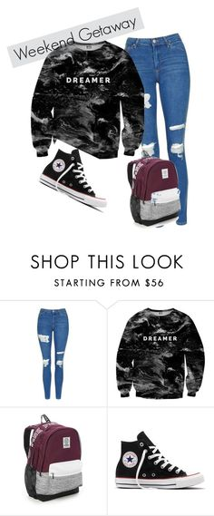 """Fan Fiction"" by emmi-princess on Polyvore featuring Topshop, Mr. Gugu & Miss Go, Victoria's Secret and Converse"