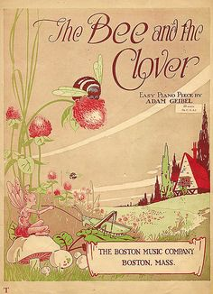 Bee and the Clover Sheet music