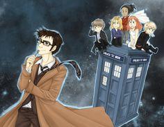 Anime Doctor Who