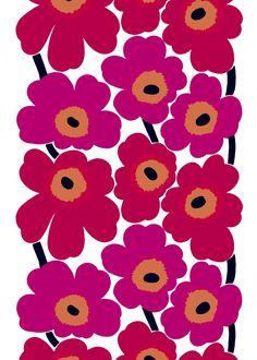 marimekko Unikko my favoutite pattern