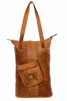 Leather bag long bagging you nr. 1 label Indistrieel € 85,--