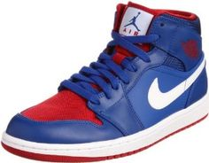 sports shoes 90af0 9d07e Jordan Men s Air Jordan 1 Mid Basketball Sneakers 554724 407, 8.5 White  Jordans, Nike