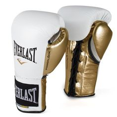 Powerlock Pro Fight Boxing Gloves, Competition Fight Gloves   Everlast
