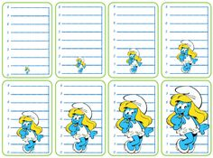 Jeu mesures de longueurs Grande Section, Wine Parties, Smurfs, Bullet Journal, Printables, Activities, Comics, School, Montessori