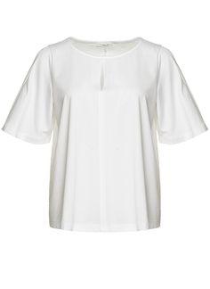 Opus 226734099 SOSKA T-Shirt Korte mouw 010 white  Description: Opus 226734099 soska Dames kleding Shirts en Tops wit? 3595  Direct leverbaar uit de webshop van Express Wear  Price: 17.98  Meer informatie