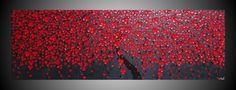 acrylic painting: tree blossom...