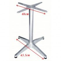 Outdoor Aluminium Cafe Table Base for square table (F2H3) $42.25 each