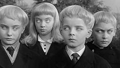 El Pueblo de los malditos (The Village of the damned - Wolf Rilla, 1960)