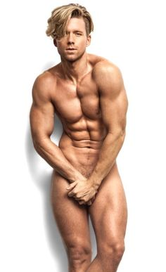 Magnificent words Blonde male models naked was