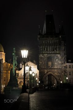 Charles Bridge - Prague Charles Bridge, Prague, Bridges, Big Ben, World, Building, Photography, Travel, Photograph