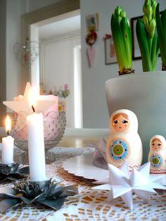 Matryoshka on the table