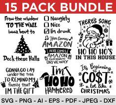 Funny Christmas SVG Bundle Naughty Svg Adult Christmas SVG | Etsy