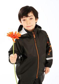 Kozi Kidz unlined rain jackets are perfect all year round. Jung In, Rain Jackets, Waterproof Rain Jacket, Swedish Design, Freedom Of Movement, Rain Wear, Dungarees, Mix N Match, Bomber Jacket