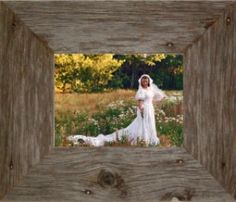 "11X14 Wide (3"") Barnwood Frames. Great Christmas gift for someone who just got married or is having an anniversary."