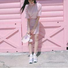 此圖像最熱門的pink 和 aesthetic包括:pink 和 aesthetic