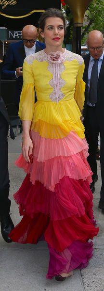 Charlotte Casiraghi en 2016