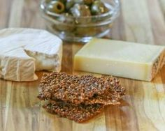 Bell Pepper and Seed Crackers (Grain Free, Paleo, GAPs)