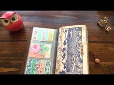 Midori Travelers Notebook Setup and Introduction!! - YouTube