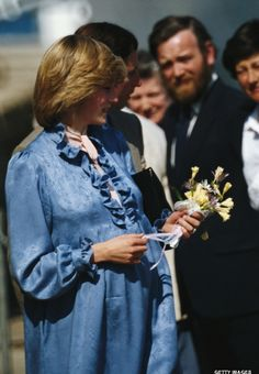 April 22, 1982: Prince Charles & Princess Diana visit St Mary's, Scilly Isles.