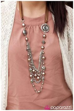 With Paparazzi Jewelry & Accessories this Necklace and Matching Earrings Set is only $5.00!! Contact me today to purchase or start a new career by joining my sales team! Earn 45% commission on every jewelry or accessory item you sell!!