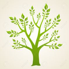 Green Tree. Concept Illustration For Your Design. Royalty Free ...