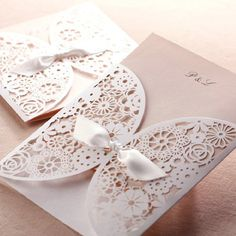 mint green lace silver pocket Wedding Invitations EWPI034 as low as $1.69 | #mintgreenweddings