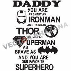 Daddy You are My Favorite Superhero Logo Svg Cartoon Logo, You Are My Favorite, Love Shirt, Superhero Logos, Silhouette Cameo, Cutting Files, Daddy, Darkness, Cartoons