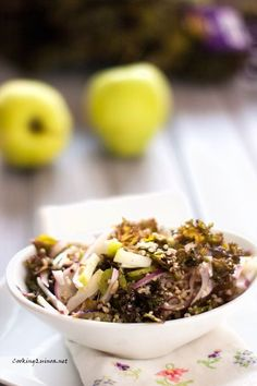 Kale & Apple Quinoa Salad