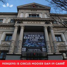 Koninklijk Theater Carré is er weer klaar voor: Wereldkerstcircus!