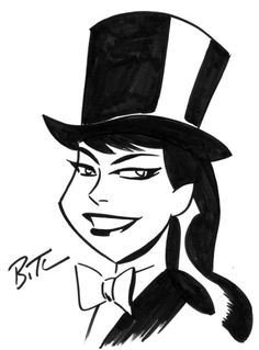 Zatanna by Bruce Timm ★ || CHARACTER DESIGN REFERENCES (www.facebook.com/CharacterDesignReferences & pinterest.com/characterdesigh) • Love Character Design? Join the Character Design Challenge (link→ www.facebook.com/groups/CharacterDesignChallenge) Share your unique vision of a theme every month, promote your art and make new friends in a community of over 20.000 artists! || ★