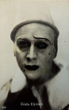theloudestvoice:Gösta Ekman, The Clown, 1926