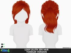 Coupure Electrique: LeahLillith`s Jen hair retetured - kids and toddlers version - Sims 4 Hairs - si The Sims 4 Pc, Sims Four, Sims 4 Cas, Sims Cc, Los Sims 4 Mods, Sims 4 Game Mods, Sims 4 Toddler Clothes, Sims 4 Cc Kids Clothing, The Sims 4 Bebes