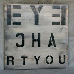 Eye Chart You, $174, now featured on Fab.