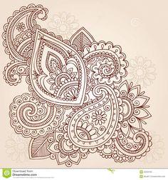 Projeto Do Doodle Do Tatuagem De Mehndi Paisley Do Henna - Baixe conteúdos de Alta Qualidade entre mais de 42 Milhões de Fotos de Stock, Imagens e Vectores. Registe-se GRATUITAMENTE hoje. Imagem: 22253155