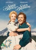 Seven Brides for Seven Brothers, film, musicals, Howard Keel, Jane Powell Love Movie, Movie Stars, Movie Tv, Howard Keel, The Blues Brothers, Plus Tv, Cinema, Movies Worth Watching, Before Wedding