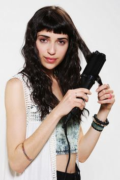 Corioliss The Big Wave Styling Iron #urbanoutfitters