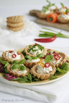 Party Snacks, Finger Foods, Feta, Potato Salad, Food And Drink, Mexican, Potatoes, Chicken, Ethnic Recipes