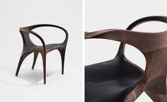 Zaha Hadid Experiments With Walnut In Her Final Collection For David Gill  Gallery