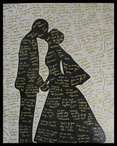wedding puzzle guest book!