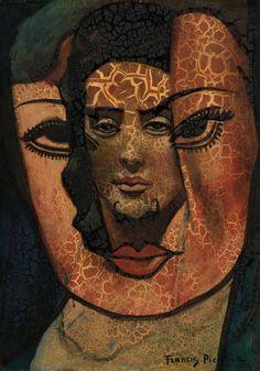 Masque ouvert, par Francis Picabia