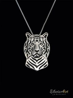 Dog jewelry design by Amit Eshel by SiberianArtJewelry Metal Necklaces, Sterling Silver Necklaces, Metal Jewelry, Silver Jewelry, Gold Price, Animal Jewelry, Black Enamel, Or Rose, Creations