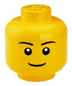 Take a look at this LEGO Man Storage Head on zulily today!